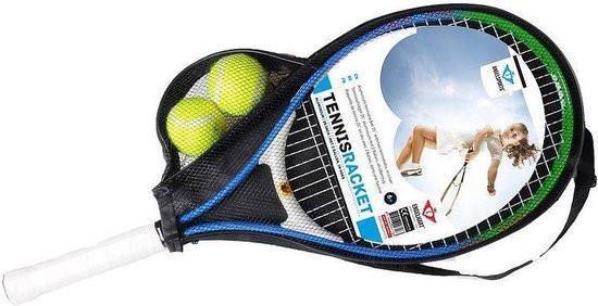 Grote foto angel sports tennisracket 25inch incl. 2 ballen kinderen en baby los speelgoed