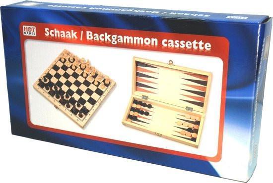 Grote foto hot games schaak backgammon klapcassette verzamelen overige verzamelingen