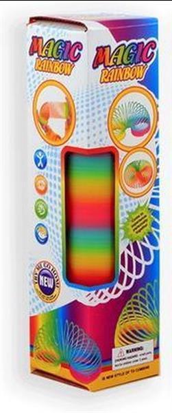 Grote foto magische regenboog trapveer 30x8x7 5cm kinderen en baby speelgoed voor jongens