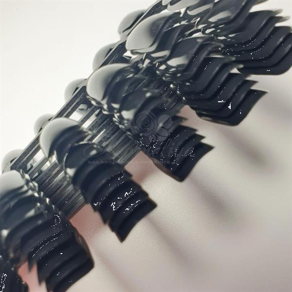Grote foto korneliya show tips zwart 240 stuks diensten en vakmensen workshops