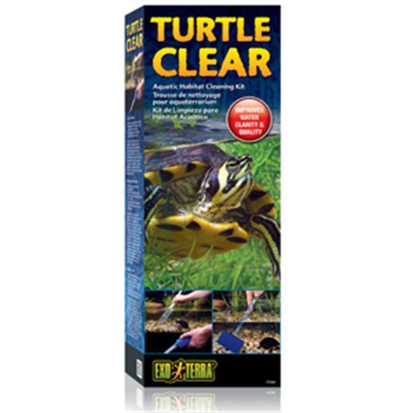 Grote foto turtle clear cleaning kit dieren en toebehoren vissenkommen