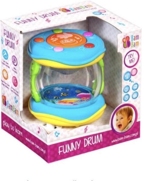 Grote foto bam bam musical toy a funny drum kinderen en baby babyspeelgoed