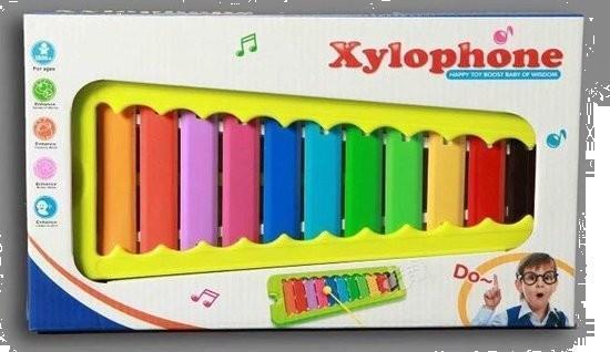 Grote foto xylofoon speelgoed metaal kinderen en baby babyspeelgoed