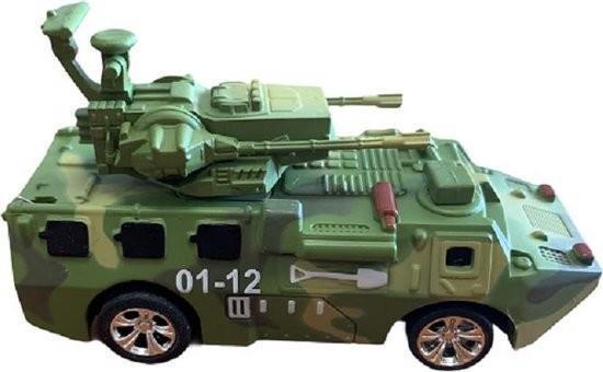 Grote foto mini legervoertuig met geschut met rc afstandsbedieningen verzamelen overige verzamelingen