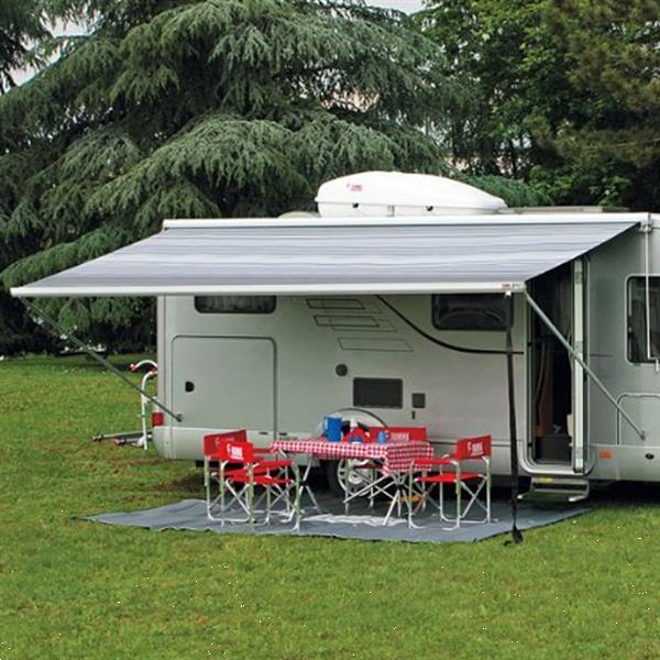 Grote foto fiamma f45l 450 titanium blue ocean caravans en kamperen tenten