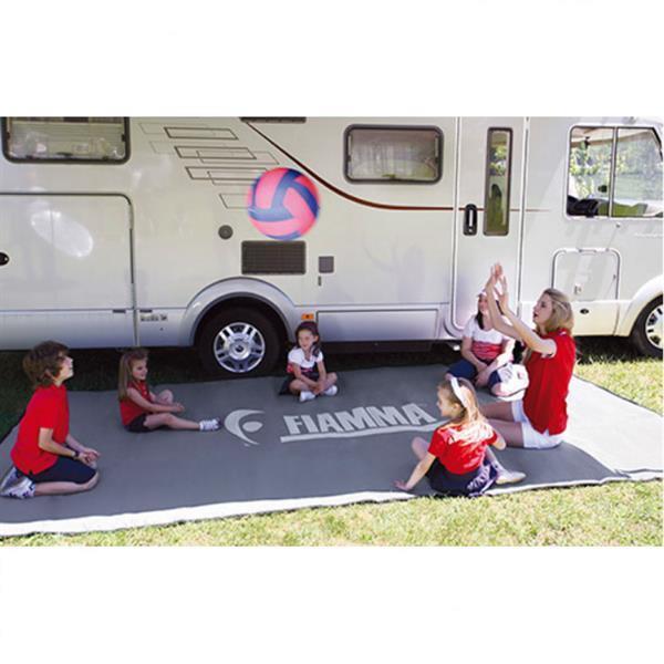 Grote foto fiamma patio mat 390 caravans en kamperen tenten