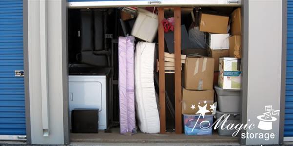 Grote foto magic storage opslag voor al uw overige spullen diensten en vakmensen verhuizers en opslag