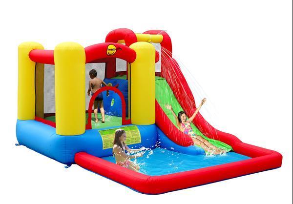 Grote foto happy hop jump splash adventure zone kinderen en baby trampolines en springkussens