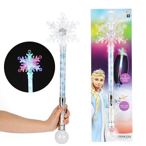 Grote foto toi toys magische staf sneeuwvlok 60 cm kinderen en baby overige
