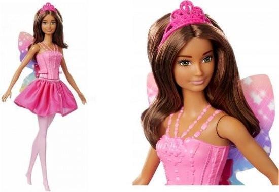 Grote foto barbie dreamtopia fairy ballarina brunette kinderen en baby speelgoed voor jongens