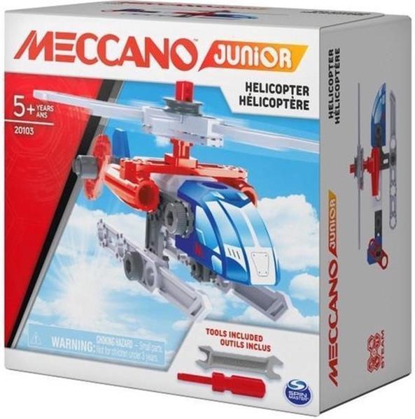 Grote foto meccano junior action builds helicopter kinderen en baby overige