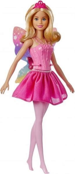 Grote foto barbie dreamtopia fairy ballarina blond kinderen en baby poppen