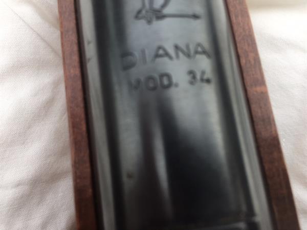 Grote foto diana mod.34 classic luchtgeweer 4.50 mm . hobby en vrije tijd overige hobby en vrije tijd