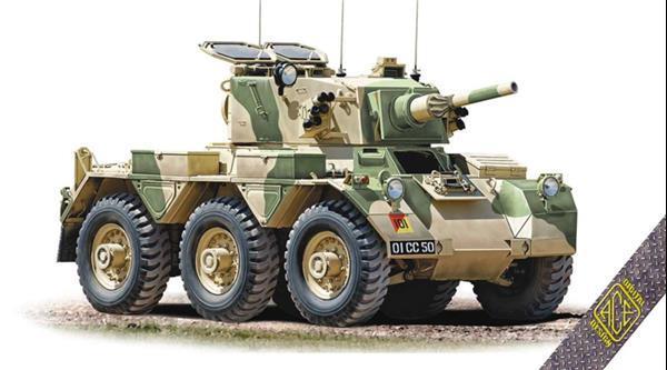 Grote foto ace 72435 fv 601 saladin armoured car 1 72 verzamelen overige verzamelingen