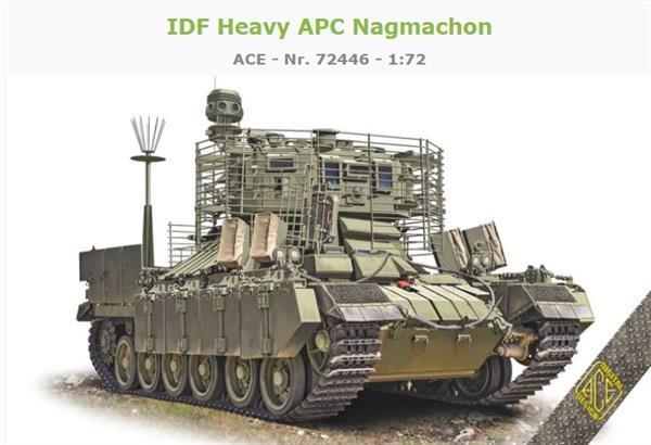 Grote foto ace 72446 idf heavy apc nagmachon 1 72 verzamelen overige verzamelingen