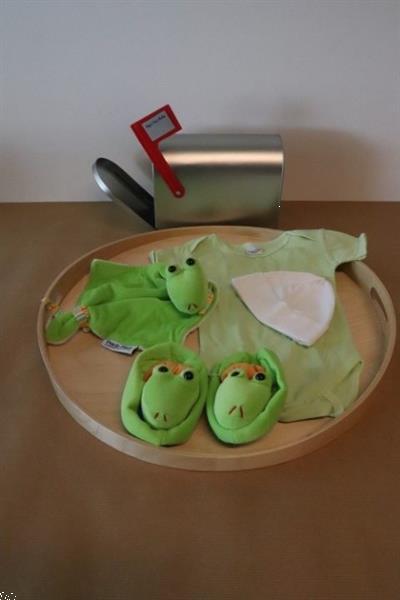 Grote foto baby eerste mailbox groen kinderen en baby kraamcadeaus en geboorteborden