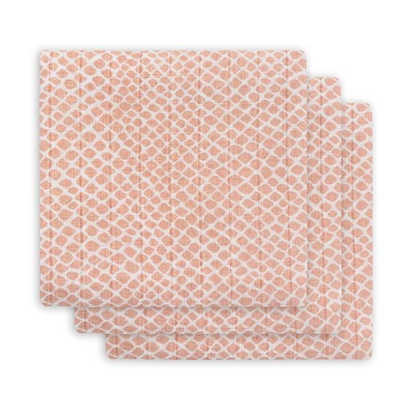 Grote foto hydrofiel multidoek klein snake pale pink kinderen en baby dekens en slaapzakjes