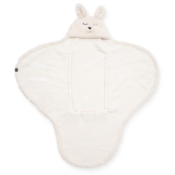 Grote foto wikkeldeken bunny wit kinderen en baby kraamcadeaus en geboorteborden