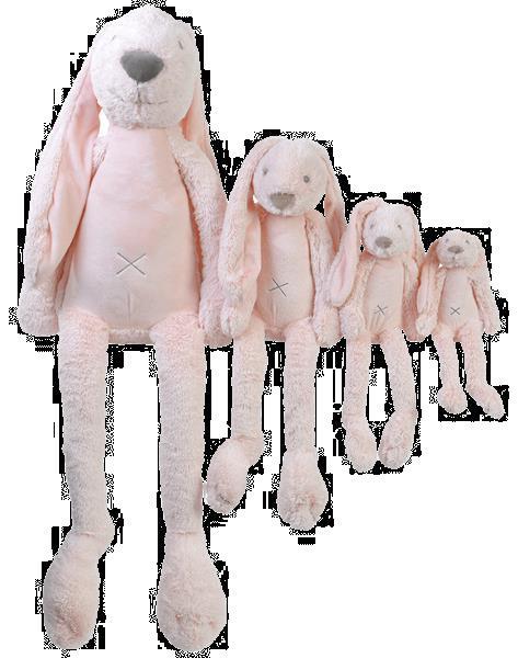 Grote foto tiny pink rabbit richie kinderen en baby knuffels en pluche