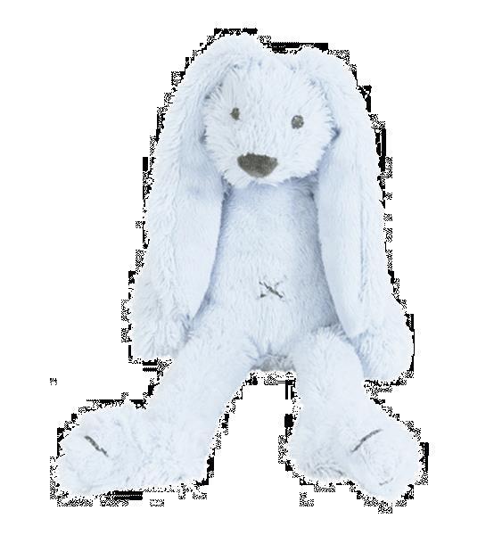 Grote foto tiny blue rabbit richie kinderen en baby knuffels en pluche