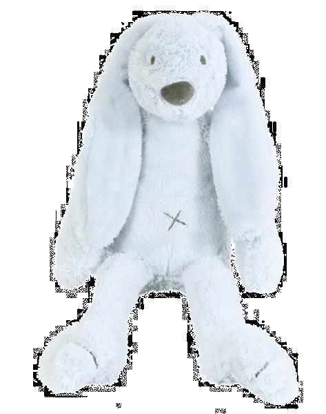 Grote foto blue rabbit richie kinderen en baby knuffels en pluche