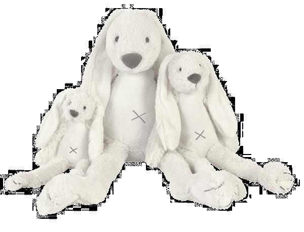 Grote foto big ivory rabbit richie kinderen en baby knuffels en pluche