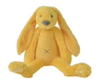 Grote foto yellow rabbit richie kinderen en baby knuffels en pluche