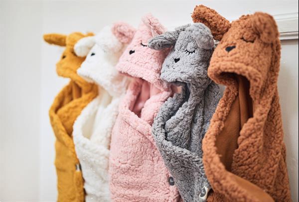 Grote foto wikkeldeken bunny storm grey kinderen en baby kraamcadeaus en geboorteborden