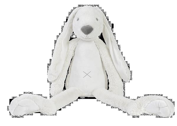 Grote foto giant ivory rabbit richie kinderen en baby knuffels en pluche