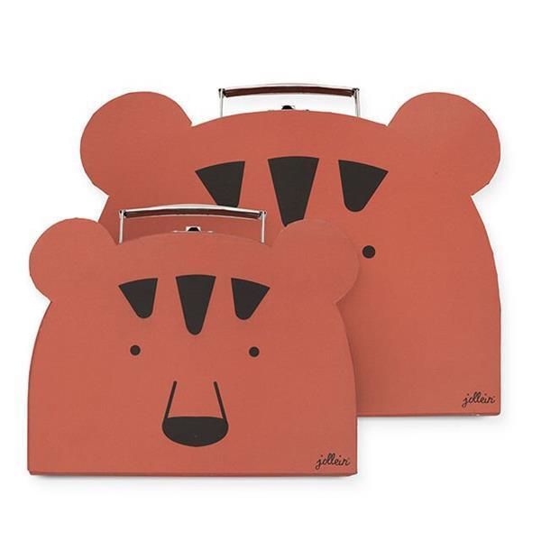 Grote foto speelkoffertje animal club rust 2pack kinderen en baby kraamcadeaus en geboorteborden