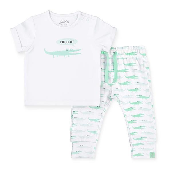 Grote foto broekje t shirt 74 80 happy croco kinderen en baby overige