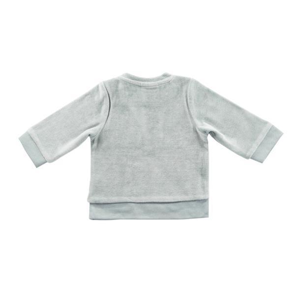 Grote foto truitje 74 80 velour grey kinderen en baby overige