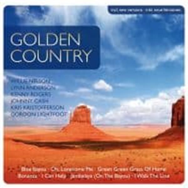 Grote foto various artist golden country 2cd muziek en instrumenten cds minidisks cassettes