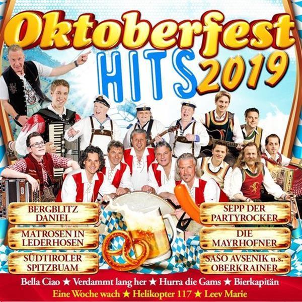 Grote foto divers oktoberfest hits 2019 cd muziek en instrumenten cds minidisks cassettes