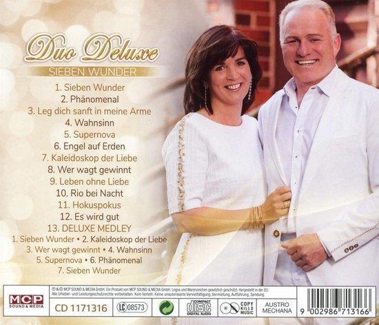 Grote foto duo deluxe sieben wunder cd muziek en instrumenten cds minidisks cassettes