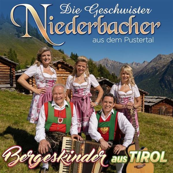 Grote foto geschwister niederbacher bergeskinder aus tirol cd muziek en instrumenten cds minidisks cassettes