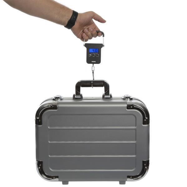 Grote foto perel bagageweegschaal digitaal 40 kg zwart verzamelen overige verzamelingen