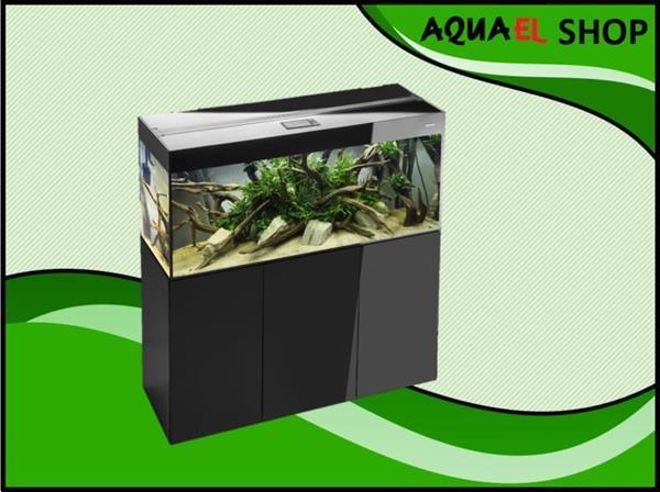 Grote foto aquael glossy 150 zwart aquarium dieren en toebehoren vissenkommen