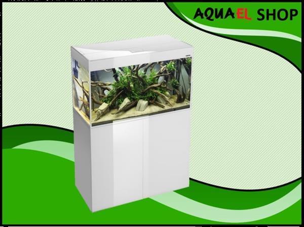 Grote foto aquael glossy 120 wit aquarium dieren en toebehoren vissenkommen