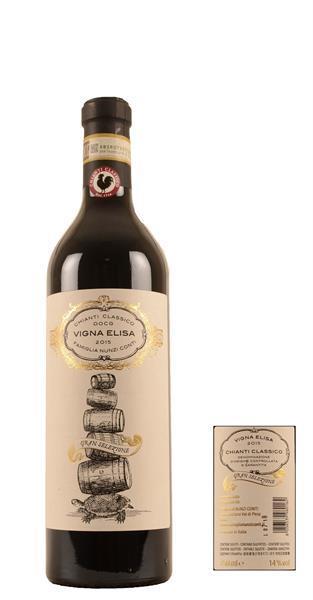 Grote foto 2012 chianti classico vigna elisa verzamelen flesjes en doppen