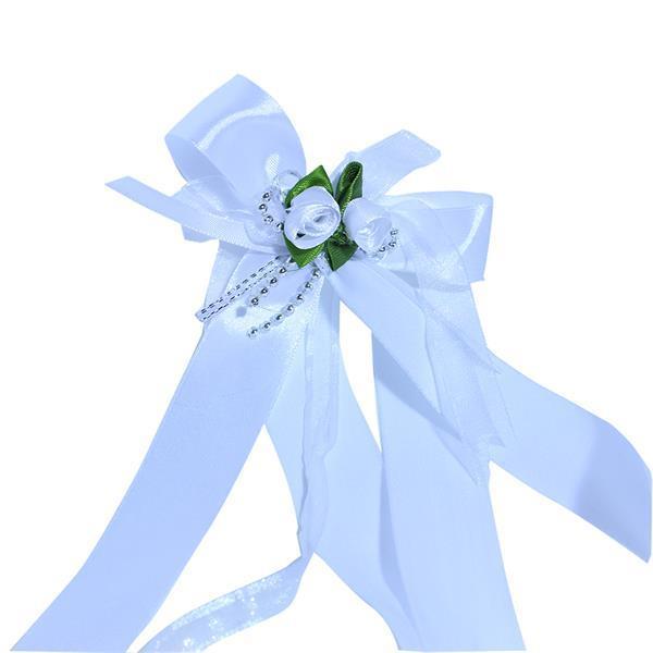 Grote foto bruiloftversiering enveloppendoos autoversiering kleding dames trouwkleding