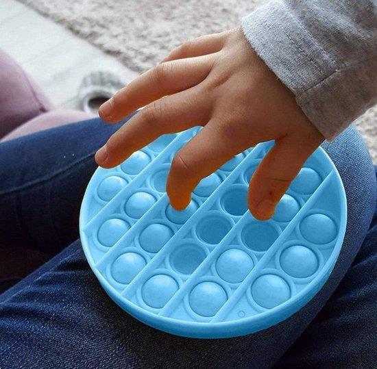 Grote foto pop it fidget toy simple dimple popit goedkoop rond groen verzamelen overige verzamelingen