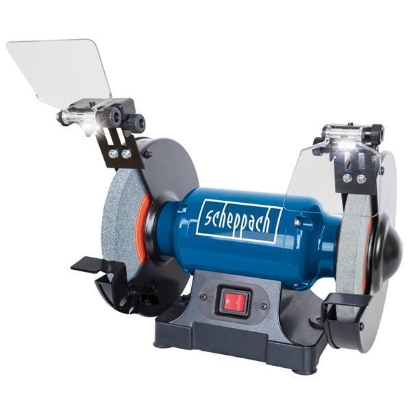 Grote foto scheppach slijp polijstmachine sm200l 500 w doe het zelf en verbouw gereedschappen en machines