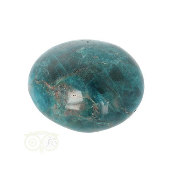 Grote foto blauwe apatiet handsteen nr 43 verzamelen overige verzamelingen