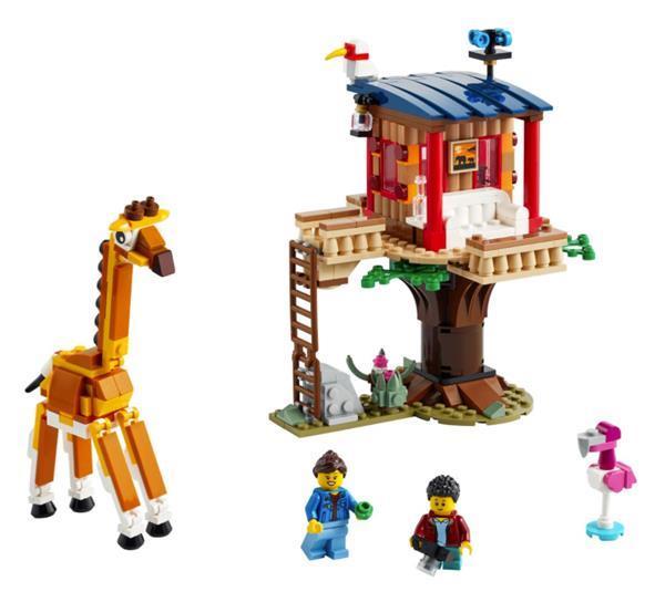 Grote foto lego creator 31116 safari wilde dieren boomhuis kinderen en baby duplo en lego