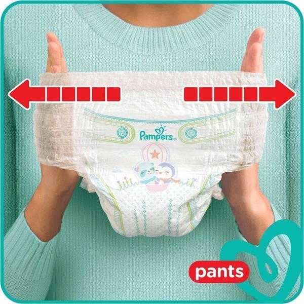 Grote foto pampers baby dry pants maat 6 mega pack 48 luierbroekj kinderen en baby dekens en slaapzakjes