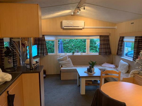 Grote foto mooie chalet op capfun rakelbos nl ultimate 900 caravans en kamperen stacaravans
