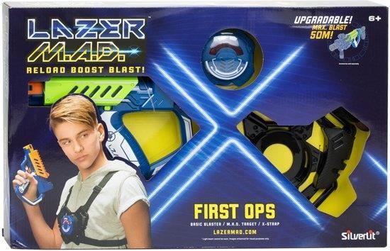 Grote foto lazer m.a.d. first ops basic blaster kit kinderen en baby los speelgoed