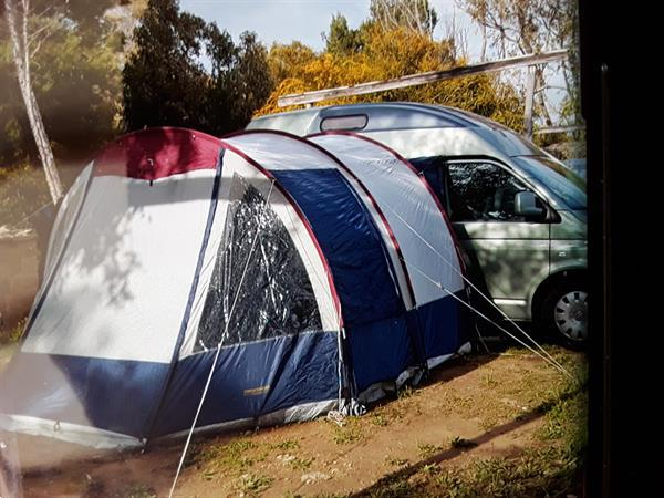 Grote foto voortent buscamper caravans en kamperen camper accessoires