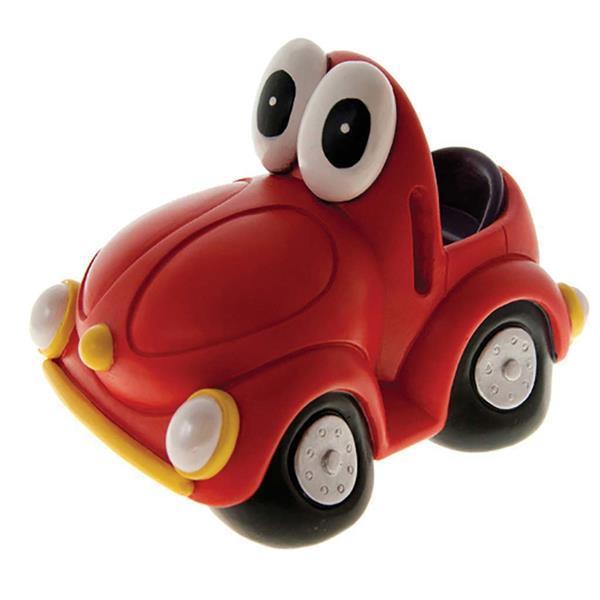 Grote foto spaarpot auto rode kever kinderen en baby kinderspulletjes